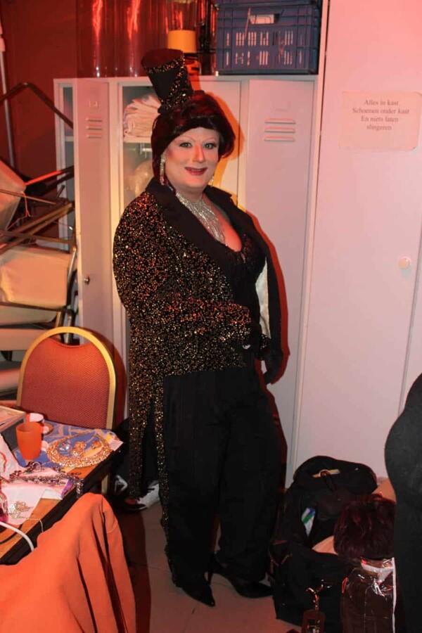 Dany Blue - Transformiste : avant le show