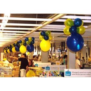 Lampion en ballons : Ikea