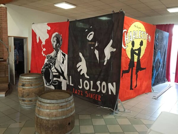 Décor toiles géantes : décor prohibition