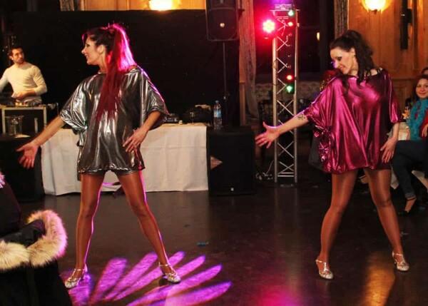 Disco Party : les danseuses