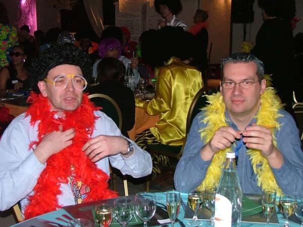 Disco Party : a table