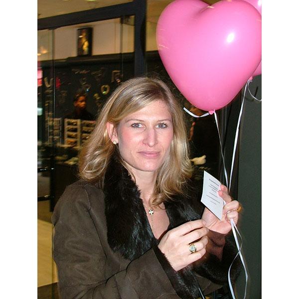 Distribution ballons St Valentin Coeur6
