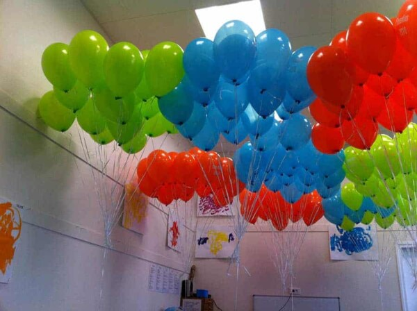 Distribution de ballons : stockage