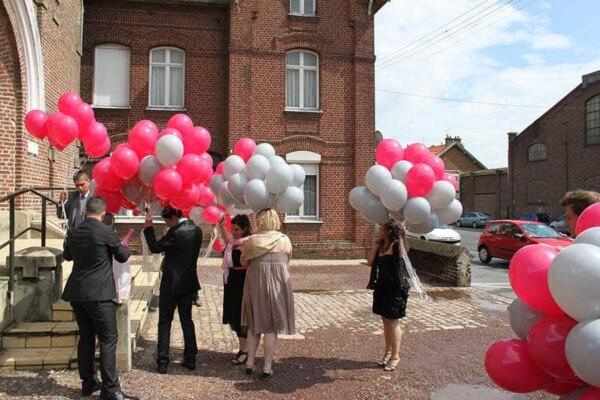 Distribution de ballons : distribution