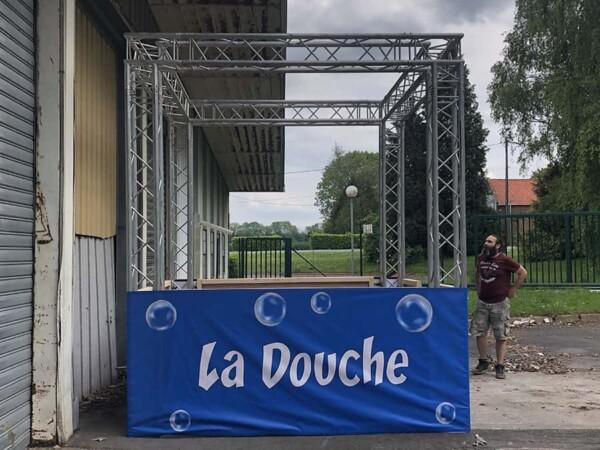Douche : installation