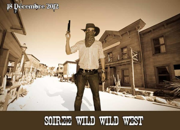 Far West Story : exemple photocall