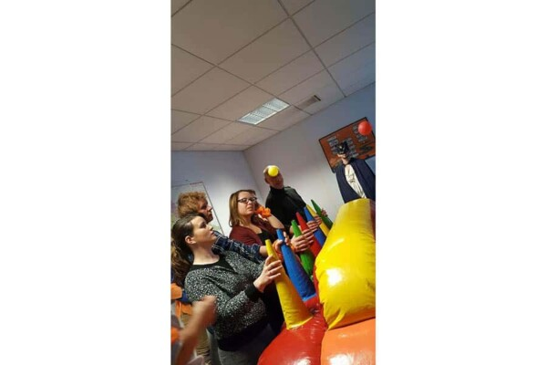 Fort boyard : jeu du airball