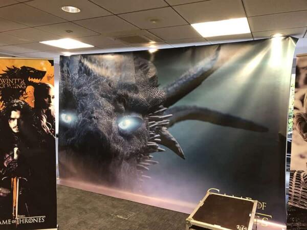 Game of Thrones : toile de décoration