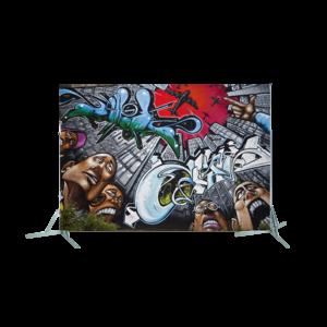 Toile géante : Graff 2