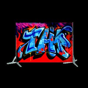 Toile géante : Graff 4