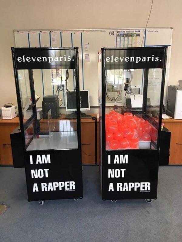 Grue à pince - I'm not a rapper