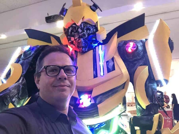 Robot Transformer : Bumblebee avec nico