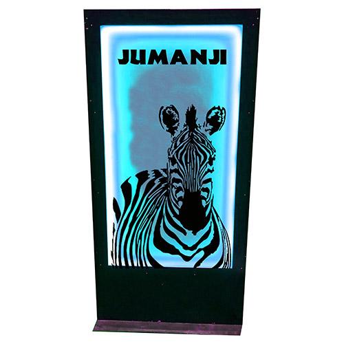 Panneau jumanji zebre