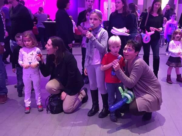 Karaoké : avec les enfants