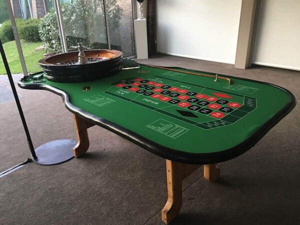 La croisière s'amuse : table de roulette