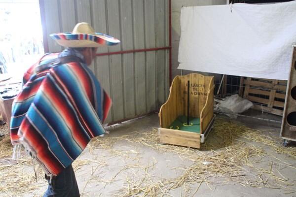 Lancer de fer à cheval : lanceur mexicain