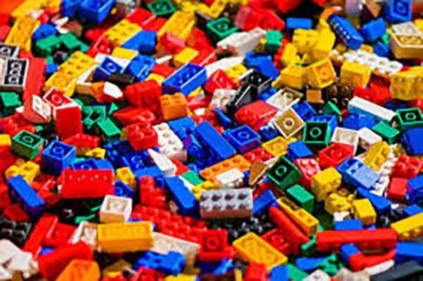 Lego : ensemble de briques