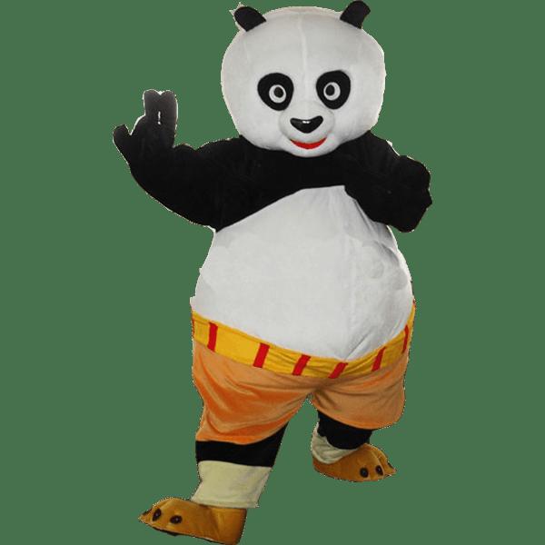 Mascotte Kung Fu Panda 1 4