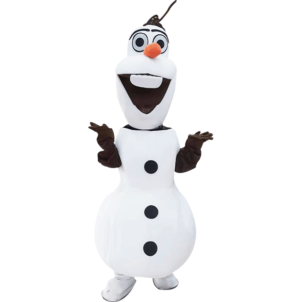 Mascotte Olaf 3 4