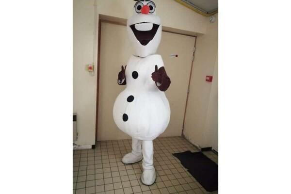 Mascotte Olaf : magnifique !