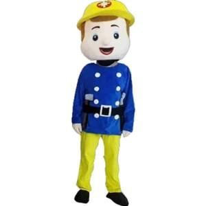 Mascotte Sam le Pompier : image de référence