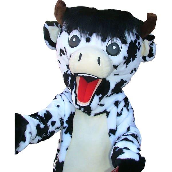 Mascotte vache : image de référence