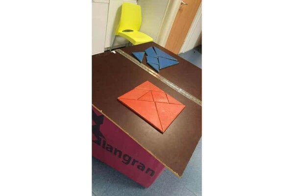 Noël à Fort Boyard : le tangran