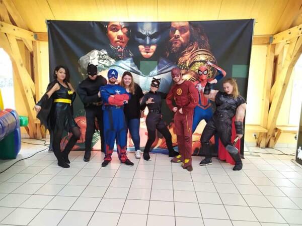 Noël à la fête foraine : tous nos super héros