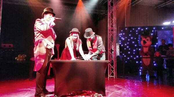 Noël au Cirque : en plein spectacle
