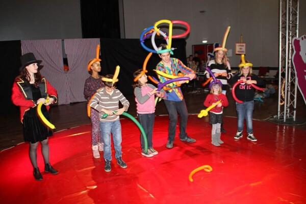 Noël au Cirque : spectacle de magie