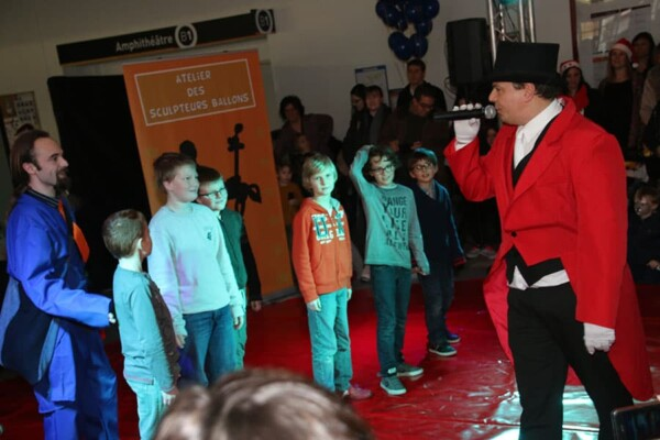 Noël au Cirque : le lancement du show