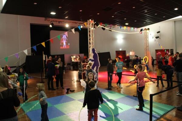 Noël au Cirque : le décor de base