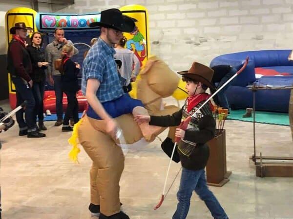 Noël au Far West : les cow boys