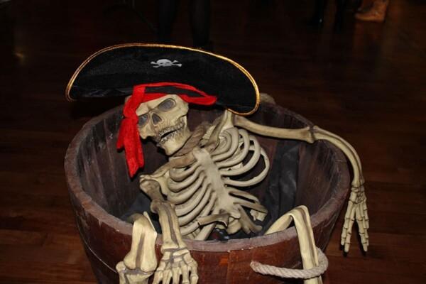 Noël chez les pirates : la décoration de l'espace