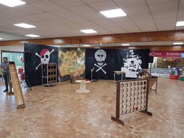 Noël chez les pirates : exemple d'un espace