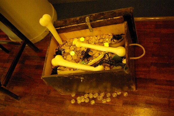 Noël chez les pirates : le coffre au trésor