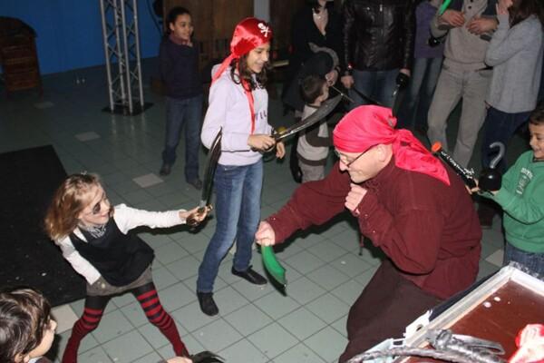 Noël chez les pirates : le fameux combat final