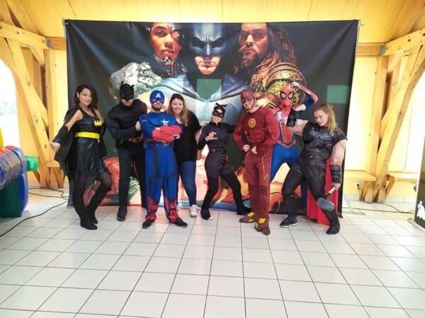 Noël chez les super héros : Tous nos super héros