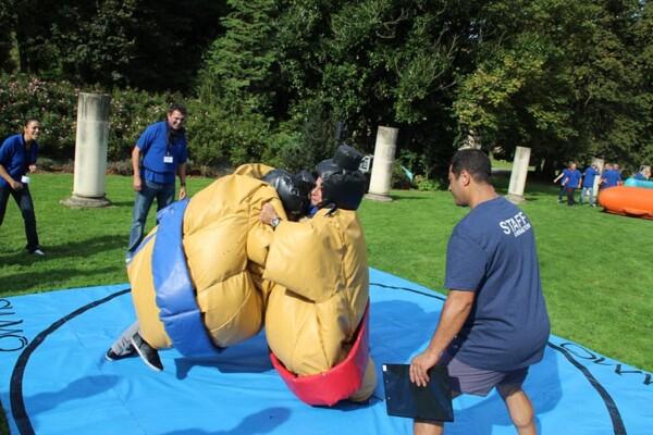 Olympiades : combat de sumos