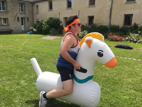 Olympiades : la course de poneys