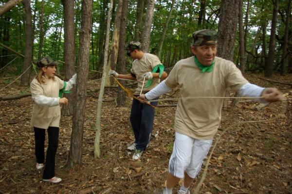 Opération commando : dans les bois