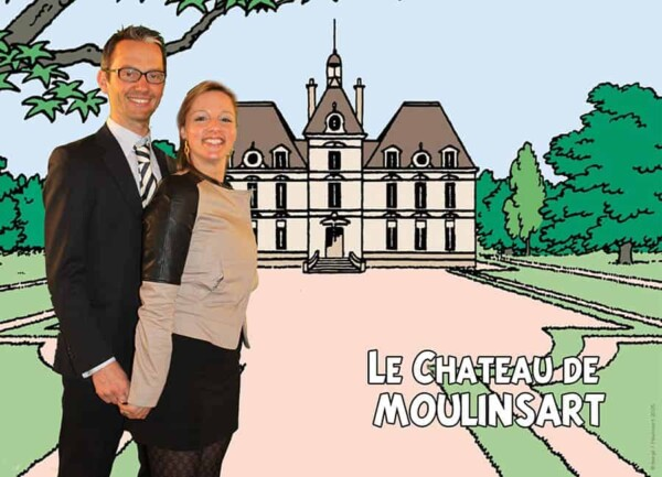 Photocall : au château de moulinsart