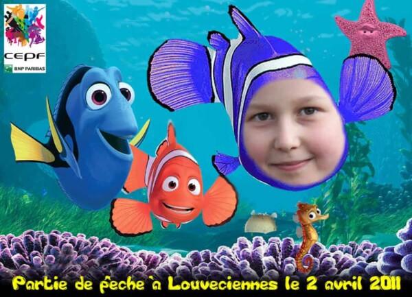 Photocall : mode Nemo