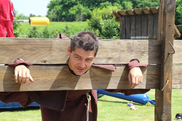 Pilori : ambiance médiévale