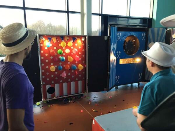 Pique ballons : salle de jeu