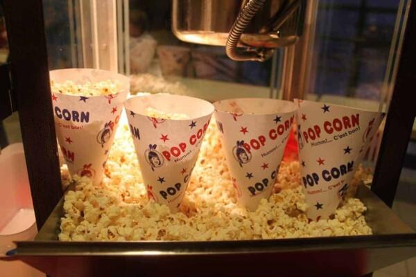 Stand Popcorn - les cornets