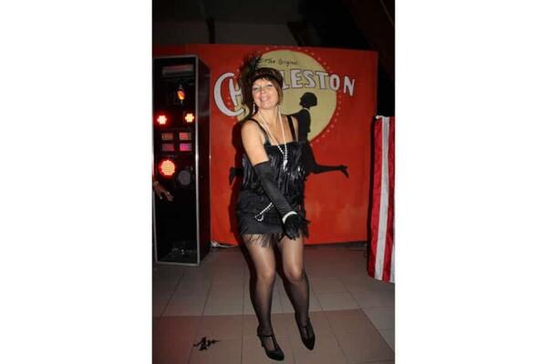 Prohibition : une danseuse à la mode