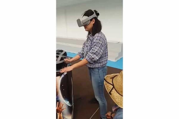 Réalité virtuelle : lynda en test