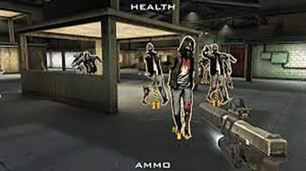 Réalité virtuelle : combat contre les zombies