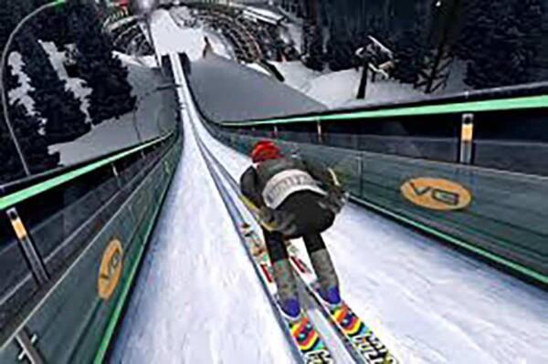 Realité virtuelle : saut à ski